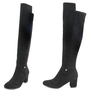 NWOT Karl Lagerfeld Paris Chance OTK Boots